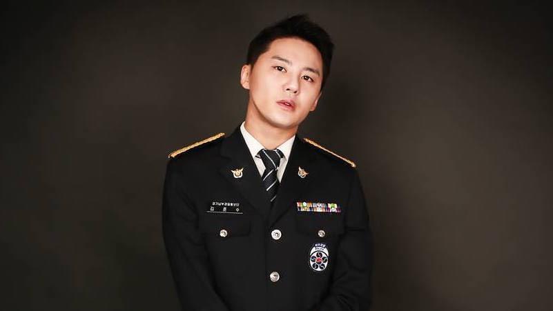 Znalezione obrazy dla zapytania kim junsu military service