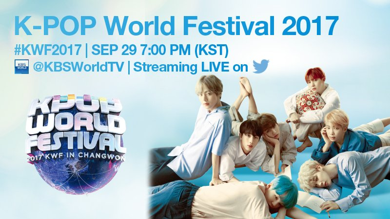 BTS, TWICE, Ailee, And More To Perform At K-Pop World Festival 2017, Broadcast Live On Twitter