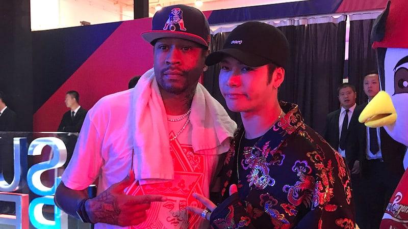 GOT7's Jackson Thanks Former NBA Star Allen Iverson For Special Gift