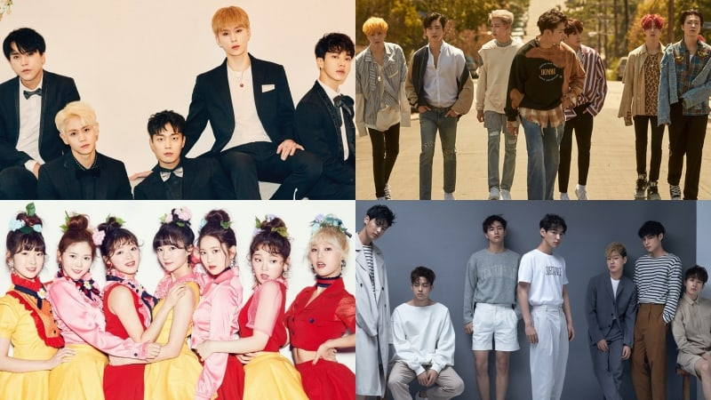 Highlight, GOT7, Oh My Girl, And VICTON To Star In First Part Of Weekly Idol Special