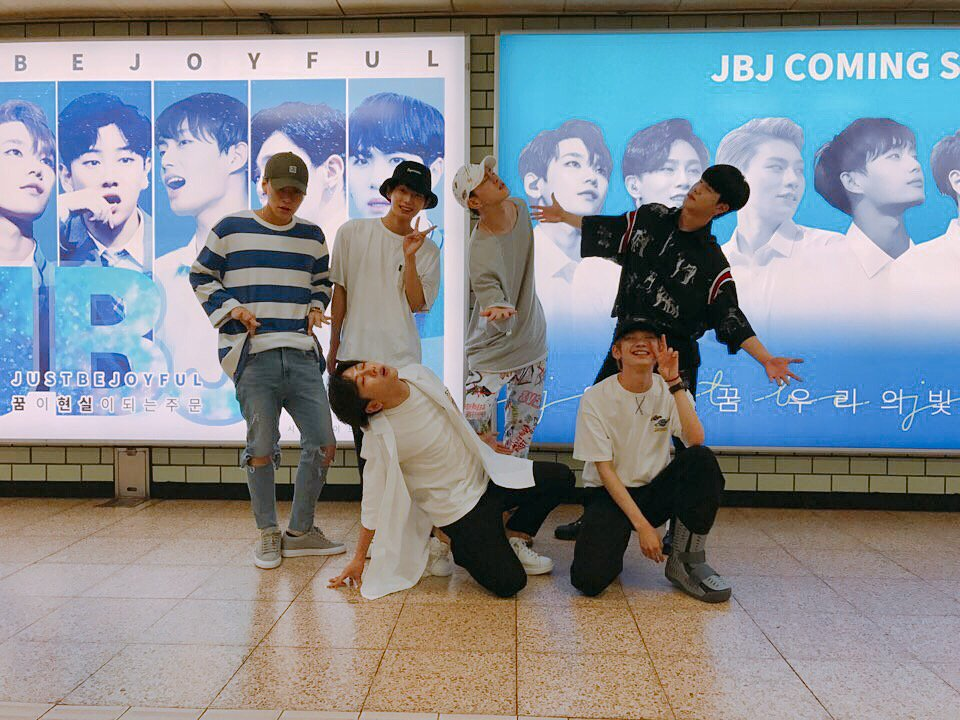 Watch: JBJ Leaves A Surprise For Fans In Subway Station
