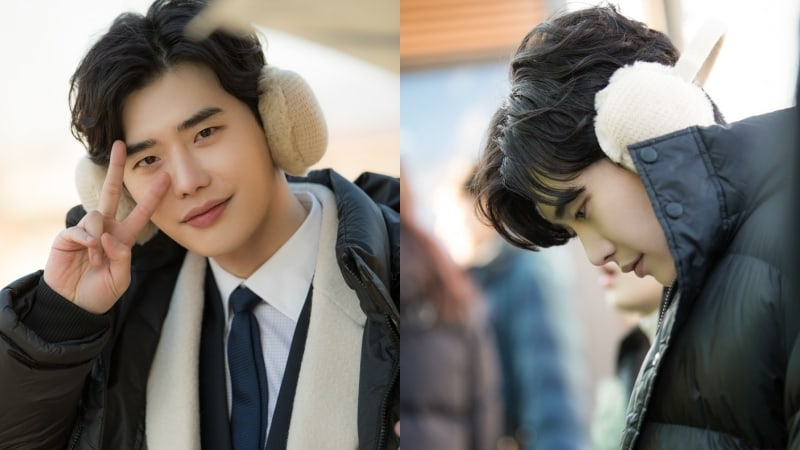 Lee Jong Suk Is A Total Pro In Behind-The-Scenes Stills Of While You Were Sleeping