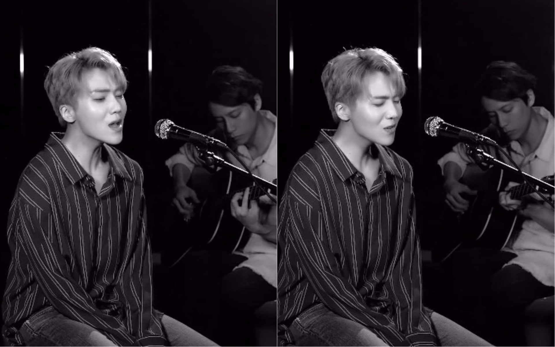 """Watch: PENTAGON's Jinho Captivates With Acoustic Cover of Charlie Puth's """"Attention"""""""