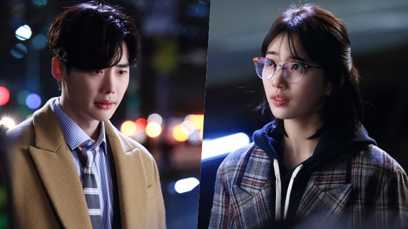 "Lee Jong Suk Goes To Suzy In Search Of Answers In New Stills For ""While You Were Sleeping"""