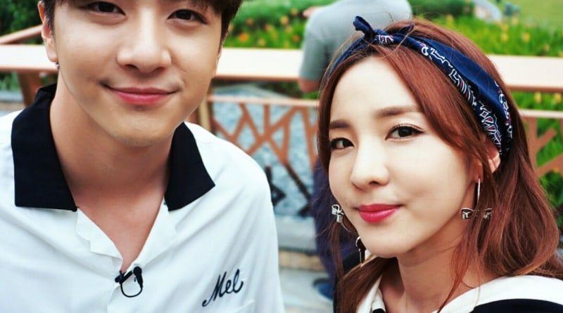"Sandara Park Posts Cute ""Failed Selfies"" With Her Brother Thunder"