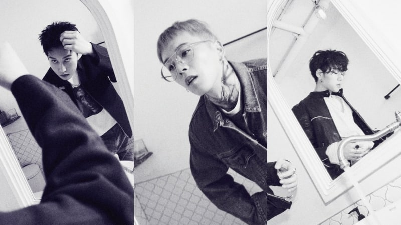 "Update: Block B Releases B-Bomb, Zico, And Taeil's Artful Official Photos For Comeback With ""Montage"""