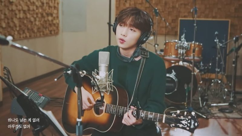 """Watch: Jeong Sewoon Blesses Ears With Acoustic Cover Of K.Will's """"Nonfiction"""""""