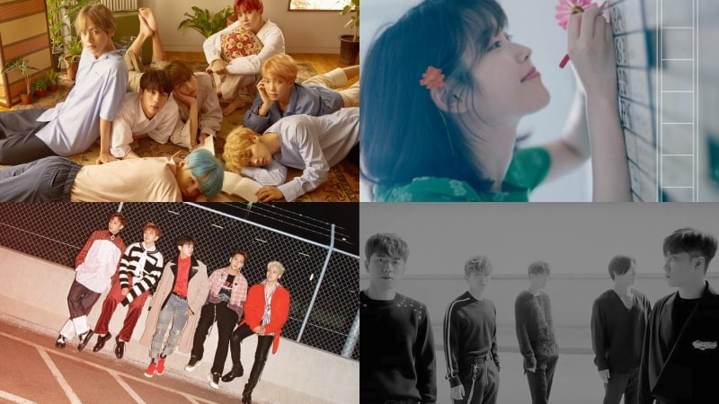 BTS, IU, B1A4, SECHSKIES, And More Rank High On Billboard's World Albums Chart
