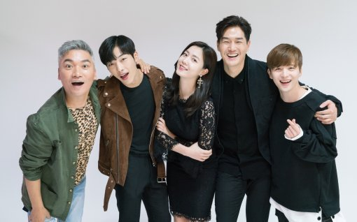 "Cast Of New Drama ""Mad Dog"" Sends Chuseok Greetings To Viewers"
