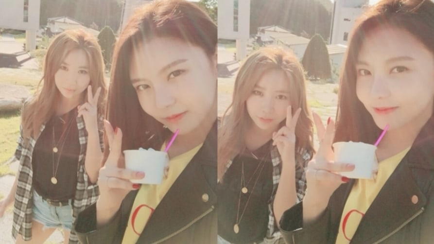 "gugudan's Nayoung Reunites With JeA For The 1st Time Since ""Produce 101"" For Chuseok Variety Show"
