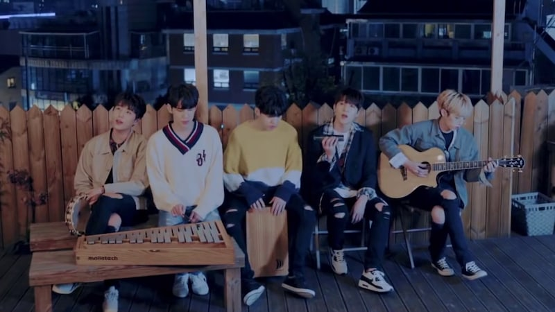 """Update: DAY6 Unveils Group Image And MV Teaser For """"All Alone"""""""