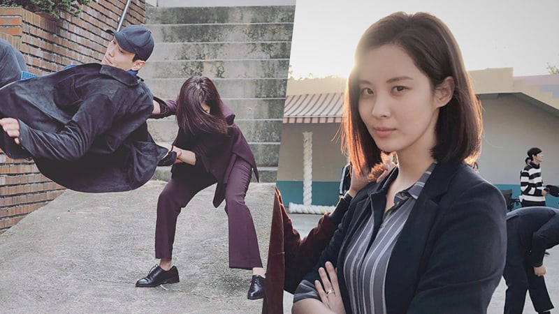 "Girls' Generation's Seohyun Puts Her Action Skills To The Test In ""Bad Thief, Good Thief"""
