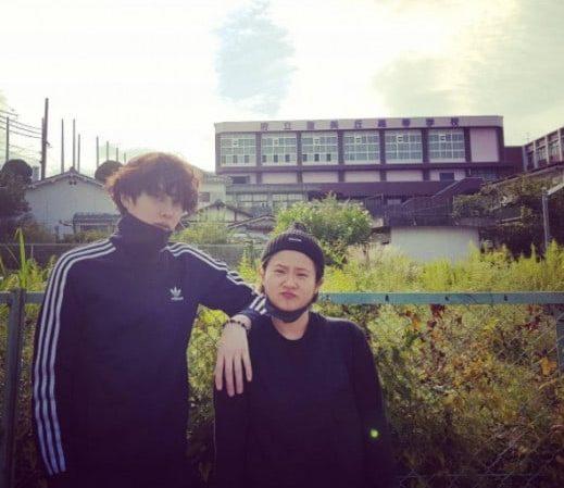 Super Junior's Kim Heechul Goes On A Trip To Osaka With Kim Shin Young
