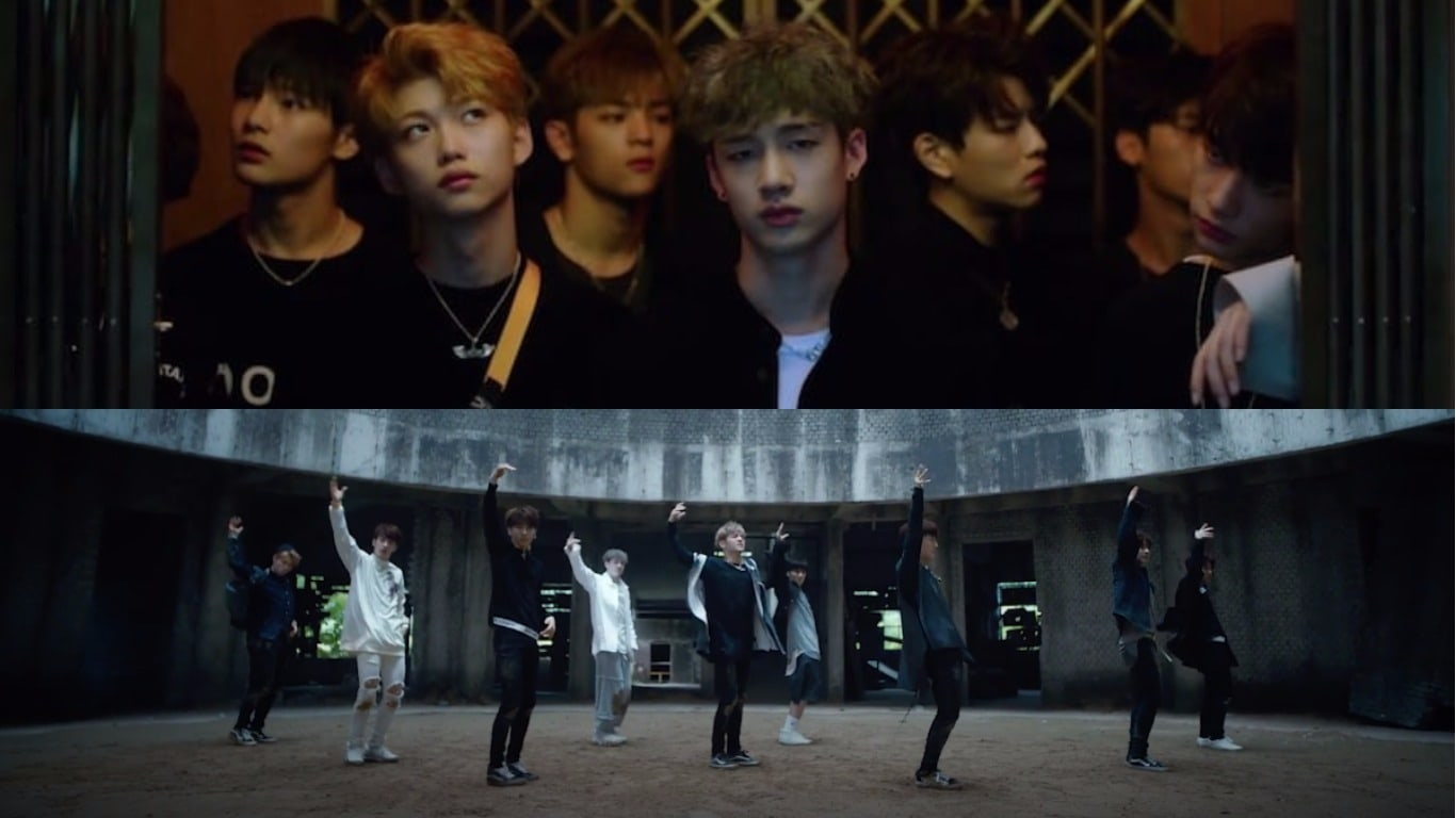 """Watch: Trainees Of JYP Survival Show """"Stray Kids"""" Show Us What They've Got In """"Hellevator"""" MV"""