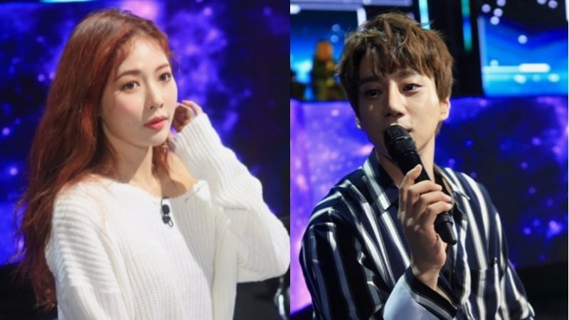 "HyunA And Hwang Chi Yeol Passionately Mentor Idols In New Stills For ""The Unit"""