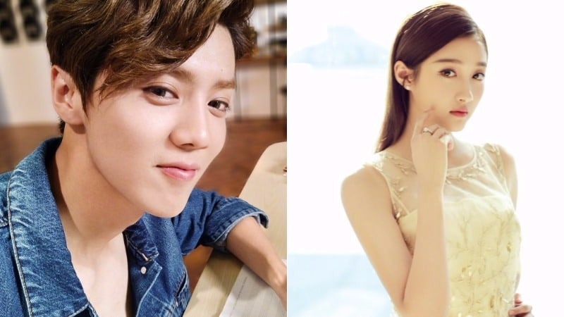 Luhan Reportedly In Relationship With Chinese Actress Guan Xiao Tong