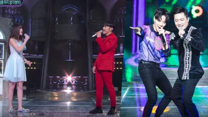 "Watch: Wheesung Teams Up With Yuju To Face Off Against Park Hyun Bin And Lee Gikwang On ""Fantastic Duo 2"""