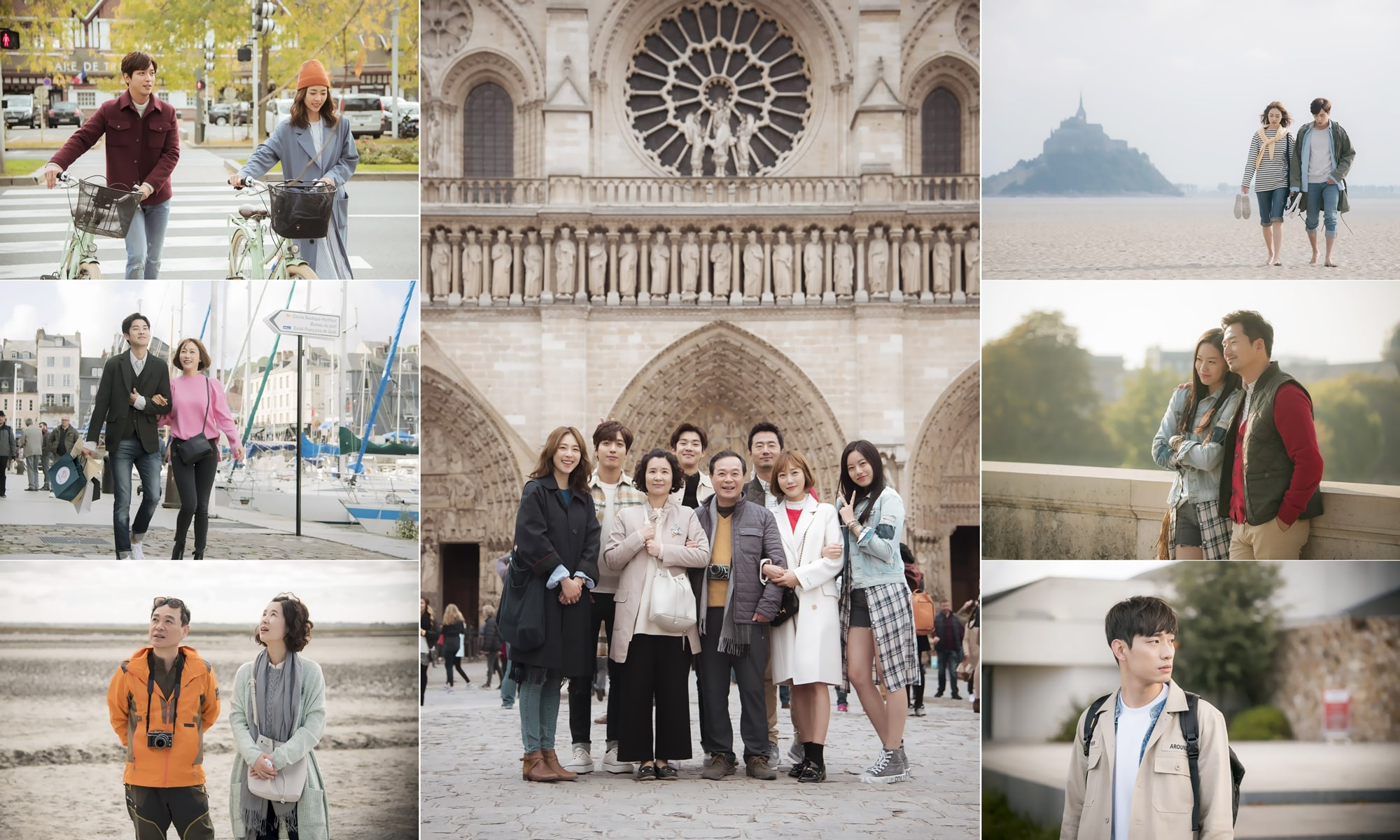 "CNBLUE's Jung Yong Hwa, Lee Yeon Hee, And Cast Of ""The Package"" Enjoy Beautiful Trip To France"