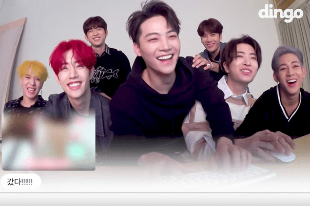 Watch: GOT7 Has Fun Typing Out Answers On Their Drinking Habits And Comeback Album