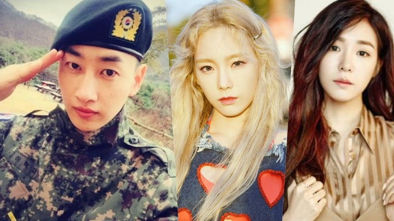 Eunhyuk Hilariously Shares A Time When Taeyeon And Tiffany Helped Him Out In The Military