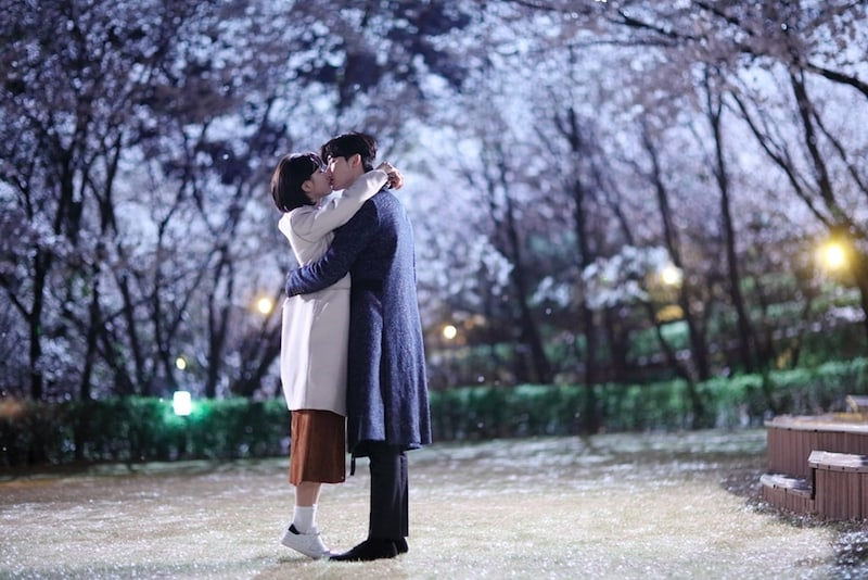 """While You Were Sleeping"" Reveals More Photos Of Suzy And Lee Jong Suk's Iconic Kiss To Thank Viewers"