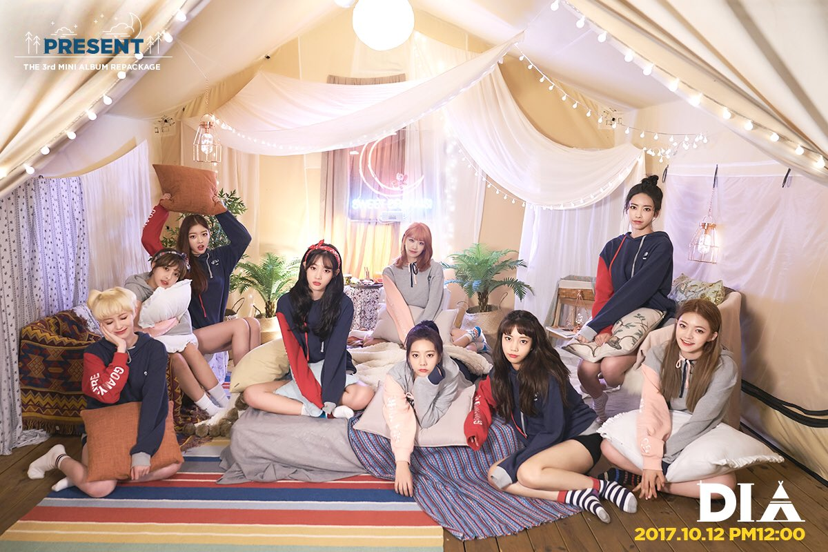 """Update: DIA Shares Group Teaser For Comeback With """"Present"""""""