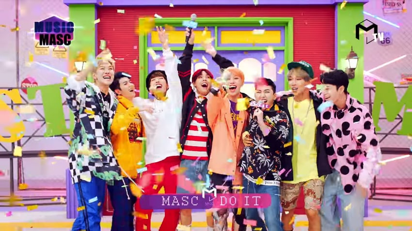 "Watch: MASC Makes 8-Member Comeback With MVs For ""Do It"" And ""Run To You"""