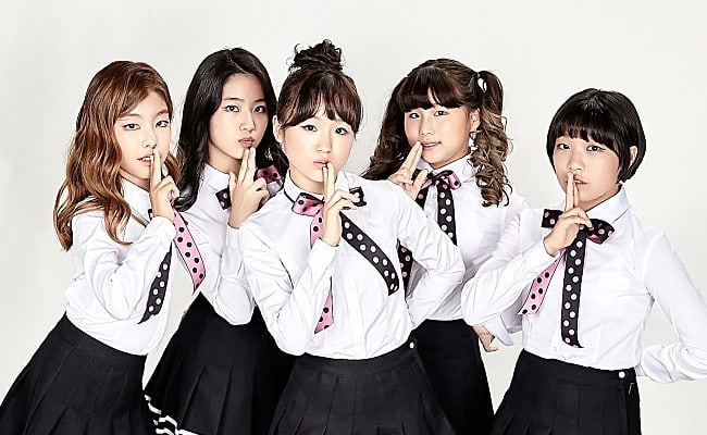 New Girl Group With Average Age Of 12.6 Years Old Makes Debut