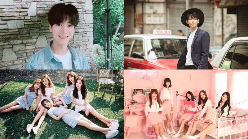 "Former A-JAX Member Moon Ji Hoo, Playback, Girls' Alert, And More Join ""MIXNINE"""