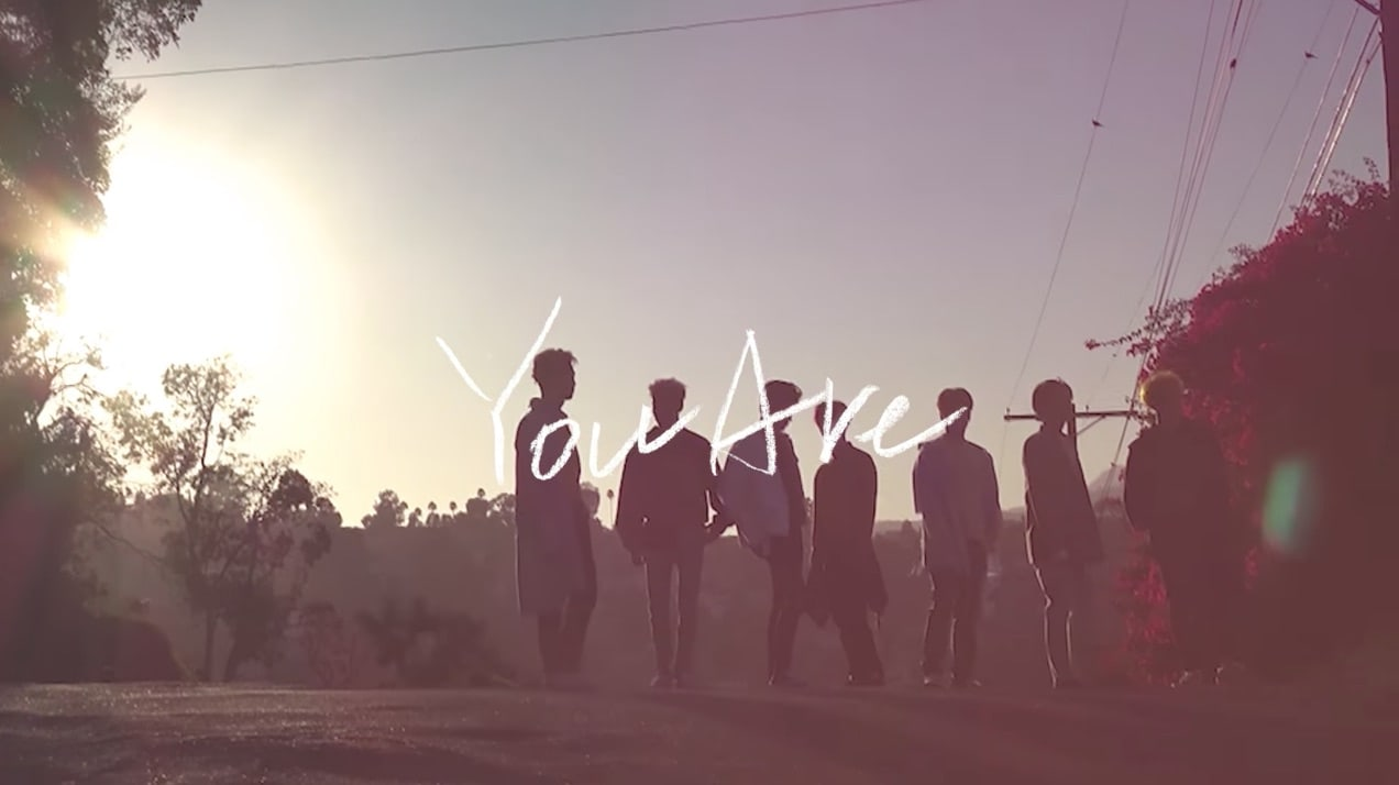 """Watch: GOT7 Shares Beautiful Lyric Video Of """"You Are"""" Produced By BamBam"""