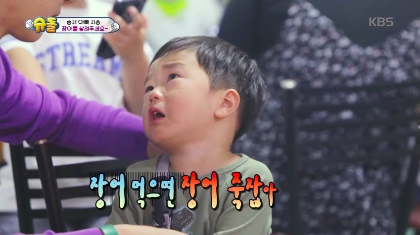 """Seungjae Shows Just How Much He Loves Sea Animals On """"The Return Of Superman"""""""