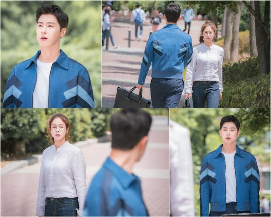 """TVXQ's Yunho And Kyung Soo Jin Experience A Fateful Meeting In New Stills For """"Melo Holic"""""""