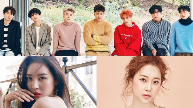 Super Junior, Sunmi, Baek Ji Young, And More To Participate In Campaign Song For 2018 Pyeongchang Winter Olympics