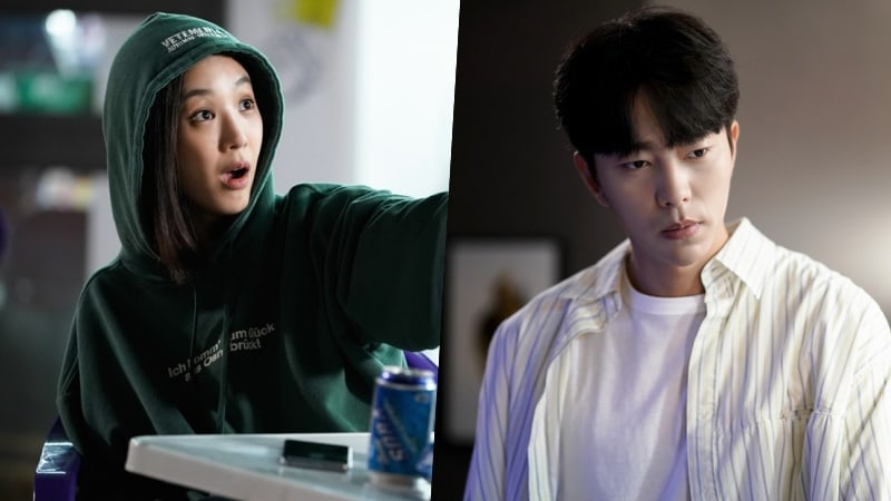 """Jung Ryeo Won Tries To Drink Her Troubles Away In New Stills From """"Witch's Court"""""""