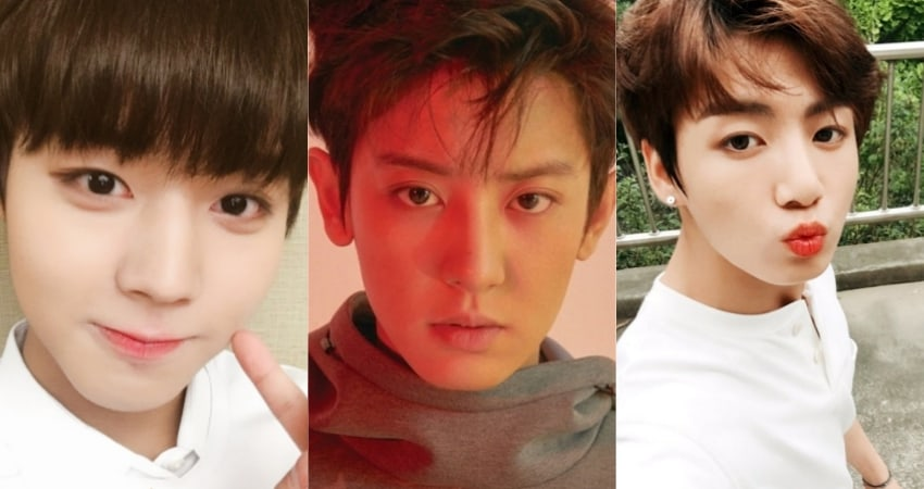 Male Idols With Mesmerizing Big Eyes