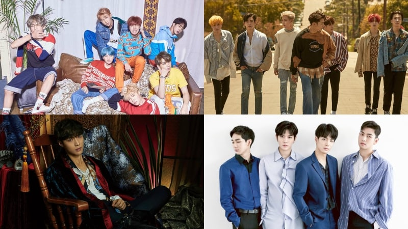 BTS, GOT7, EXO's Lay, And NU'EST W Take Spots In Top 5 Of Billboard's World Albums Chart