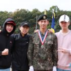2PM Members Visit Taecyeon At His Military Training Completion Ceremony