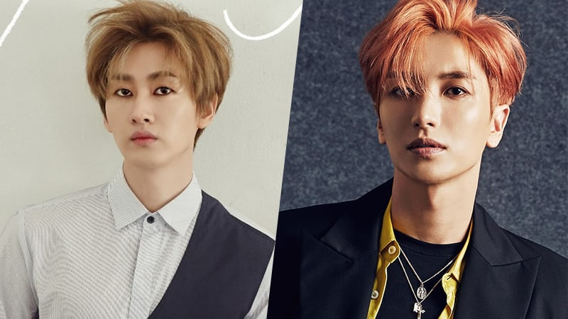 Super Junior's Eunhyuk Hilariously Reacts To Name Mishap With Leeteuk