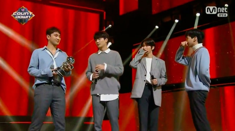 "Watch: NU'EST W Takes 1st Ever Win With ""Where You At"" On ""M!Countdown,"" Performances By Taemin, GOT7, BTOB, Highlight, And More"