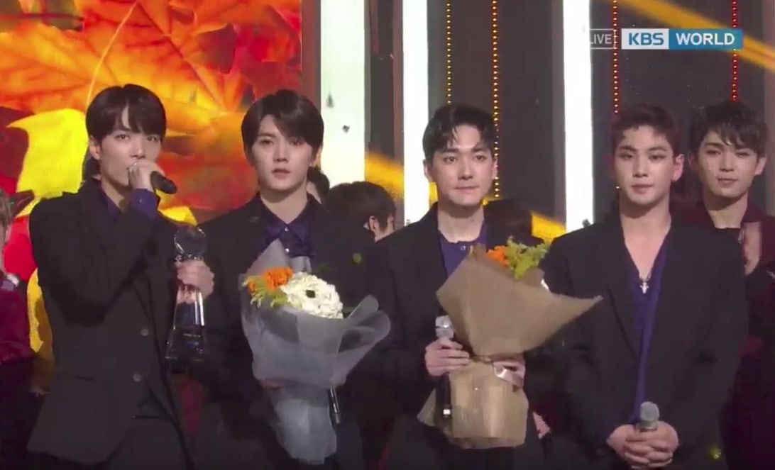 """Watch: NU'EST W Takes 2nd Win With """"Where You At"""" On """"Music Bank,"""" Performances By Taemin, BTOB, Highlight, And More"""