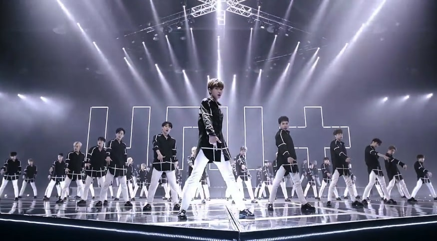 """Watch: Male Contestants Of """"The Unit"""" Show What They've Got In MV For """"Last One"""""""