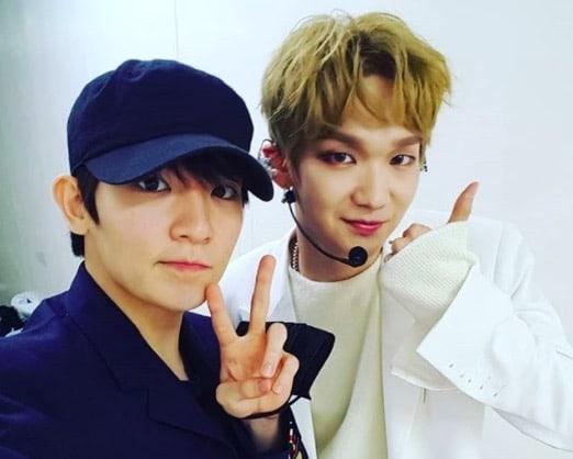 Teen Top's Ricky Cheers On His Fanboy Kenta At JBJ's Debut Showcase