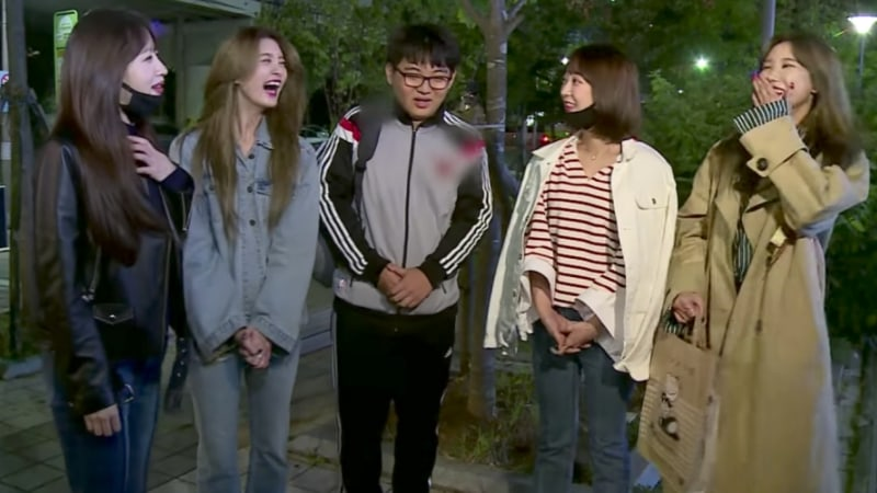 Watch: EXID's Fan Gets The Shock Of His Life When They Prank Him