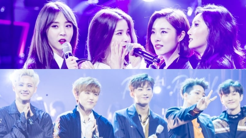 B1A4 And MAMAMOO Members Talk About Moments They Were Thankful For Their Groupmates