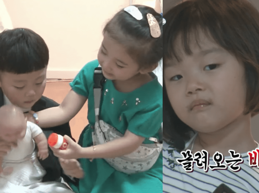 "Seol Ah Gets Adorably Jealous Of Si An's New Friend On ""The Return Of Superman"""