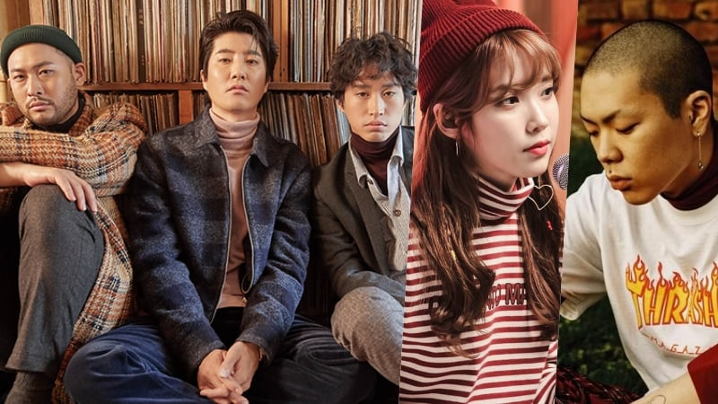 Epik High's New Tracks Featuring IU And Oh Hyuk Soar To Top Of All Major Realtime Charts