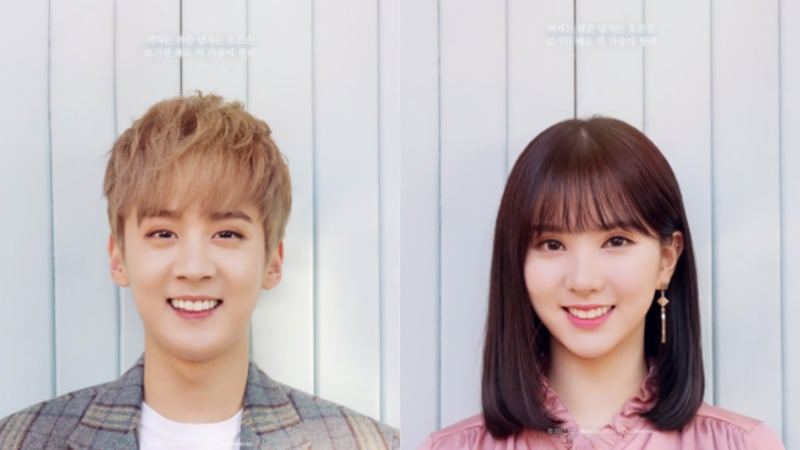 Update: GFRIEND's Eunha And Teen Top's Chunji Reveal New Preview Clip And Lyric Photos For Upcoming Duet