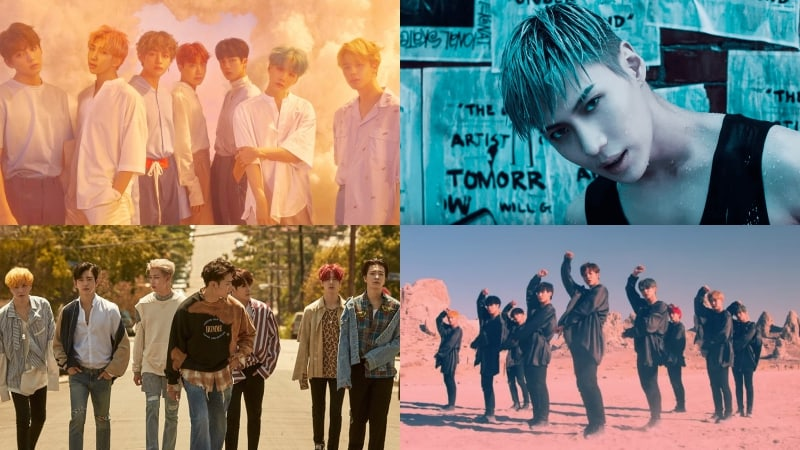 BTS, Taemin, GOT7, SF9, Highlight, And More Take Spots On Billboard's World Albums Chart
