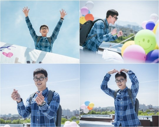 "TVXQ's Yunho Shouts His Love From The Rooftops In ""Melo Holic"" Stills"