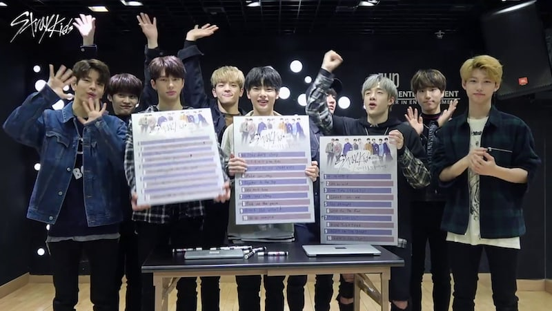 Watch: JYP's Stray Kids Opens Vote For Selection Of Group Greeting